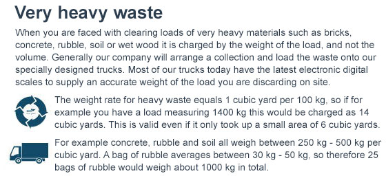 Junk Collection Rates in SW15